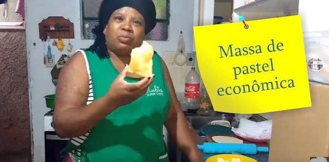 Massa de pastel econômica