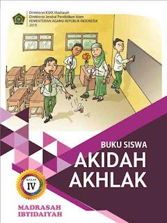 Buku Akidah Akhlak Kelas 4 MI