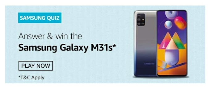 Samsung Quiz Answer and stand a chance to win