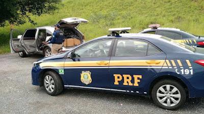 PRF apreende mais uma grande carga de Maconha em Registro-SP