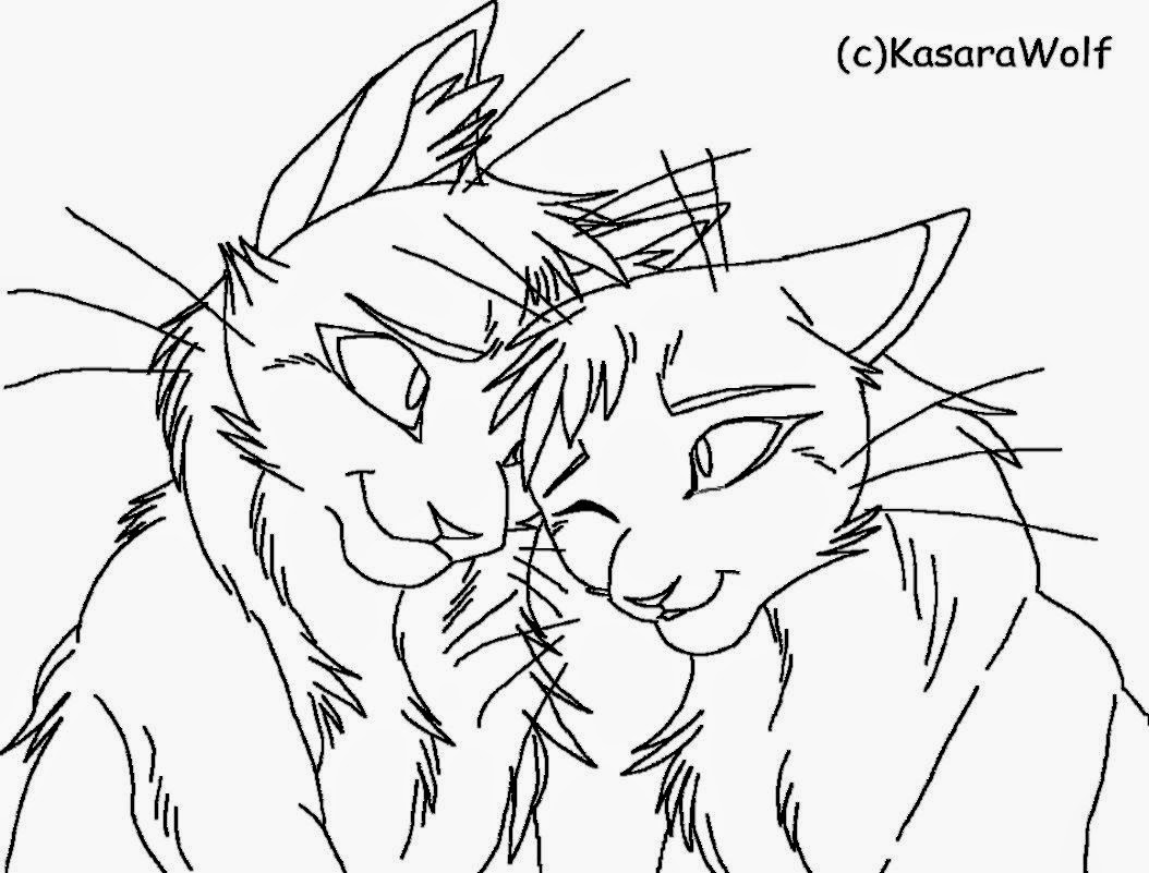 Warrior Cats Firestar Pages Coloring Pages