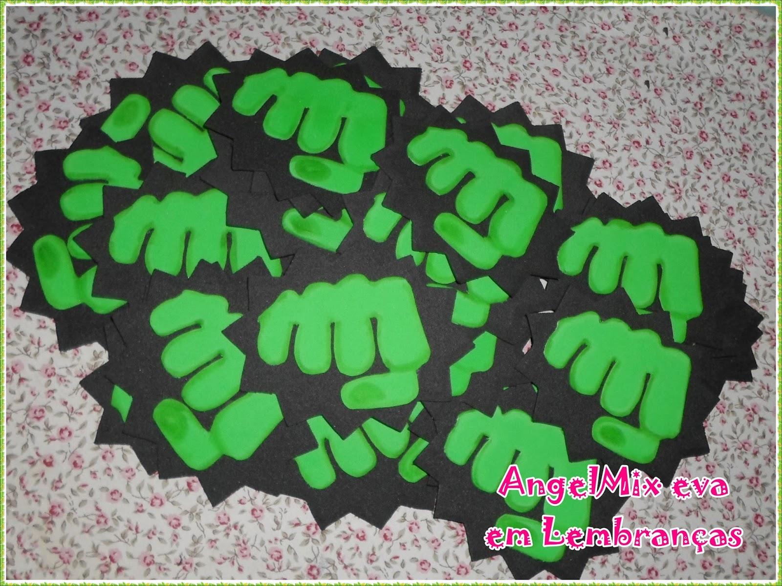 Angelmix E V A Em Lembrancas Hulk