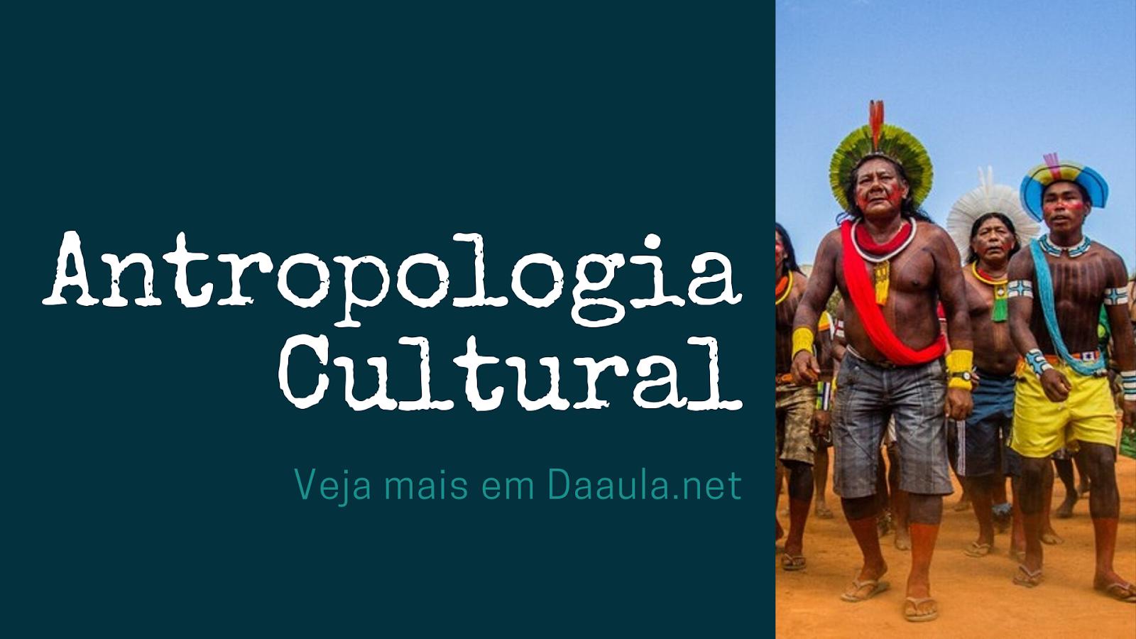 O que Estuda O Ramo da Antropologia Cultural