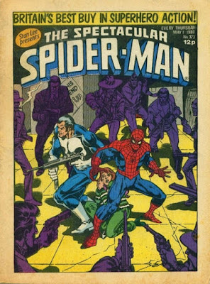 Spectacular Spider-Man Weekly #373, the Punisher