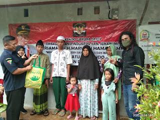 LAI Kab. Sukabumi Bagikan Paket Sembako Untuk Yatim & Dhuafa