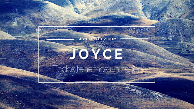 Significado y Origen del Nombre Joyce ¿Que Significa?