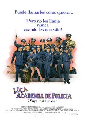 Loca Academia de Policía Poster