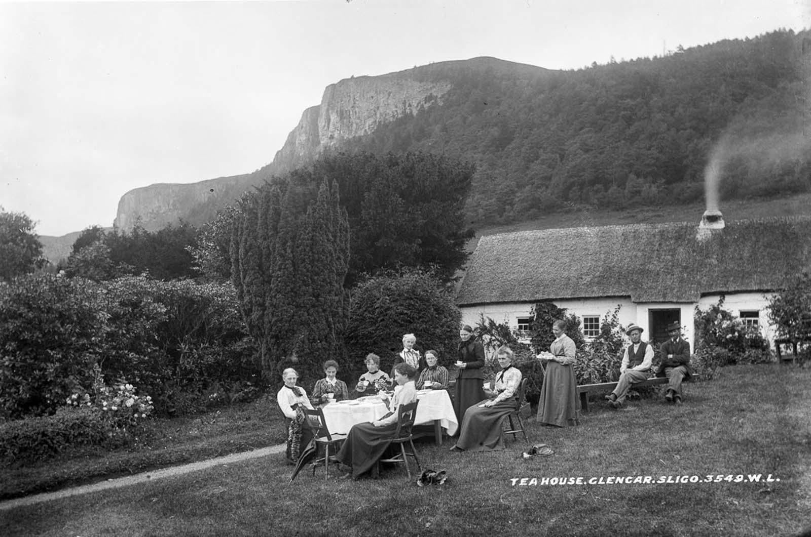 Glencar Tea House, County Leitrim. 1890.