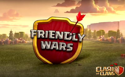 cara friendly war coc