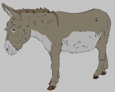 Benjamin the donkey
