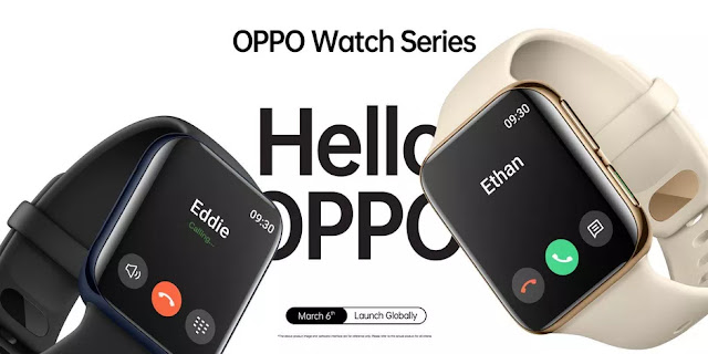 Oppo confirms March 6 launch for its Watch.