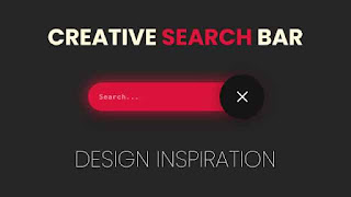 Creative Search bar Design Inspirations