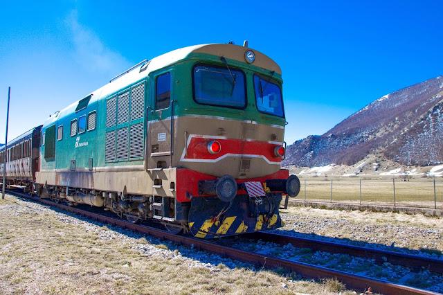 Treno storico Transiberiana d'Italia foto di Scorci di Mondi