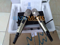 Rekomendasi mic wireles murah untuk vocalis profesional organtungal