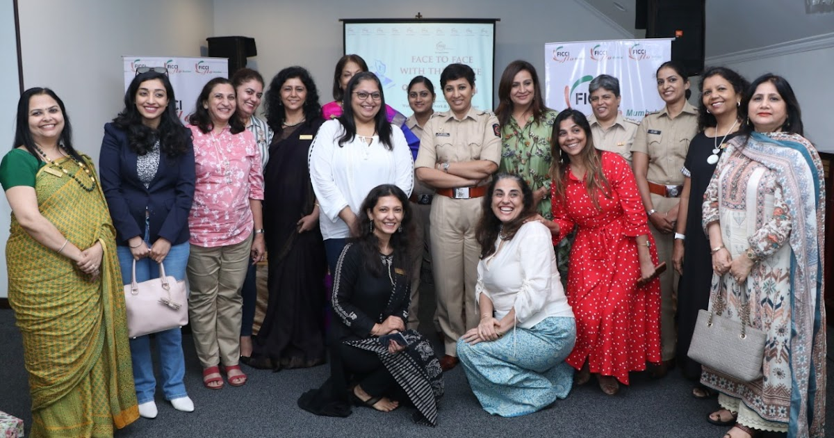 Ficci Flo Comes Face To Face With The Mumbai Police On Women Safety Day