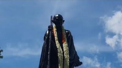 বাপুর জন্মদিন, রেড রোডে গান্ধীমূর্তিতে মালা দিলেন রাজ্যপাল