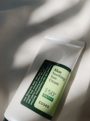 COSRX Aloe Soothing Sun Cream SPF 50+ PA+++ review