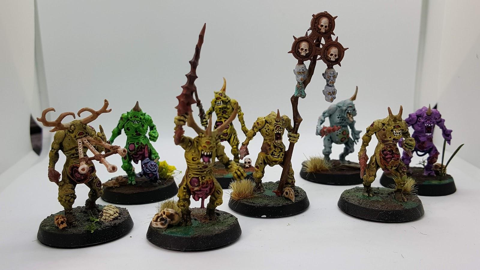The Pustulent Soil - A Nurgle Army