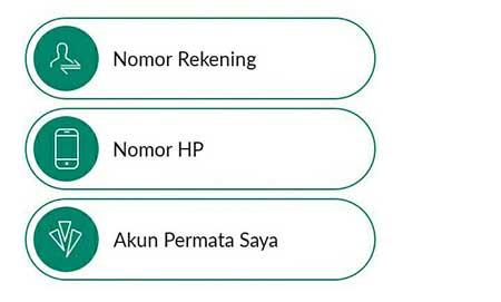 No. Rekening
