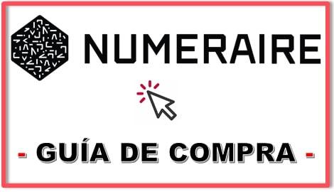 Cómo Comprar Criptomoneda NUMERAIRE (NMR) NUMERAI COIN