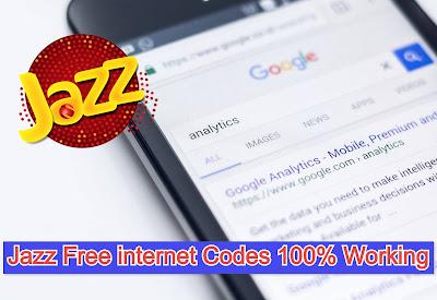 Jazz free internet code 2021 - Jazz Free Unlimited internet 100% Working Code list Update New 2021