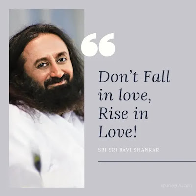Don't Fall in love, Rise in Love!