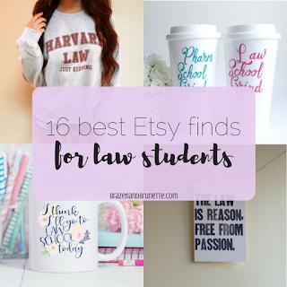 16 Great Law School Finds from Etsy   brazenandbrunette.com