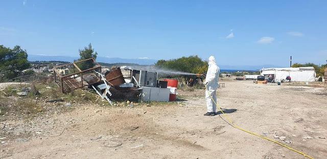 Γενική απολύμανση στο Δήμο Ερμιονίδας