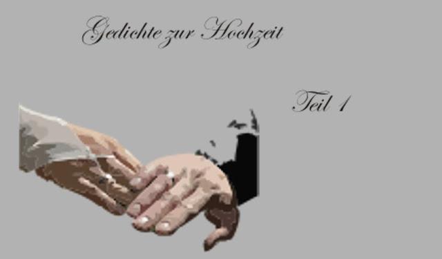 zwei Hände mit Ring