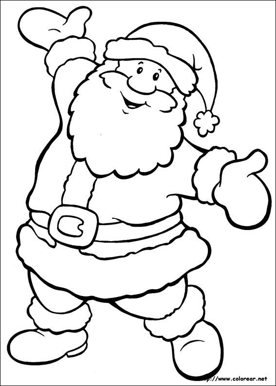 Dibujos de navidad para pintar pop guernica - Dibujos para pintar navidad ...