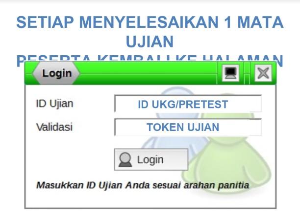 Mapel Ujian UKG