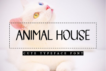 Animal House - Best Animal Font for your Business