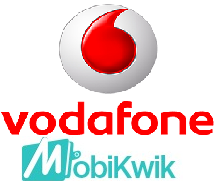 Vodafone 30 Rs recharge offer using Mobikwik