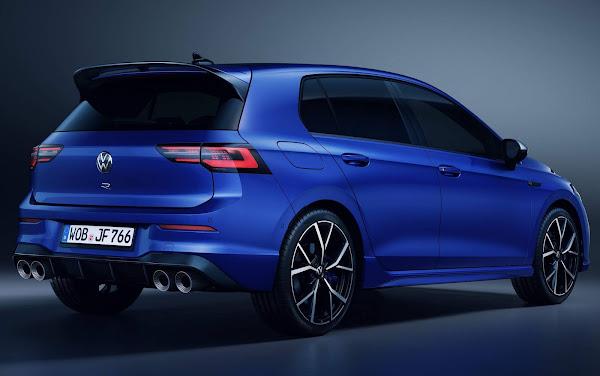 Novo VW Golf R 2022 (Mk8): fotos e especificações oficiais