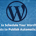 How to Schedule Your WordPress Posts to Publish Automatically