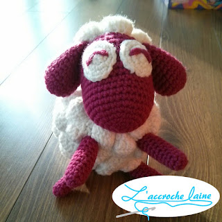 L'accroche laine - Pigment