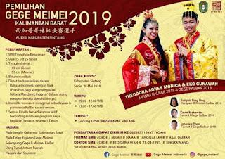 audisi casting gege meimei kalimantan barat 2019