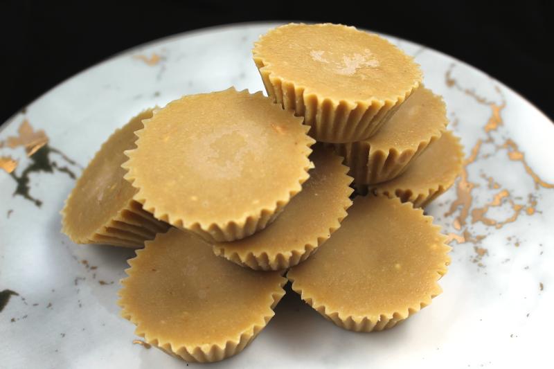 3-Ingredient No-Bake Tahini Fudge
