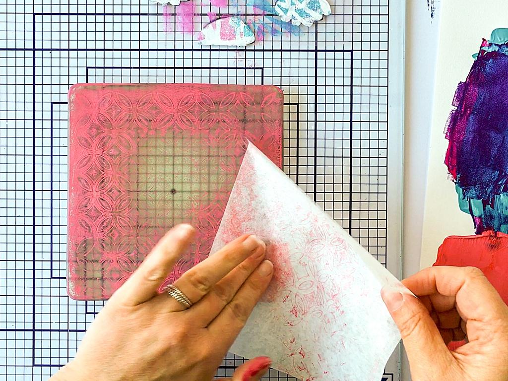 Printing with Gelli Arts®: Gelli Arts® Gel Printing on