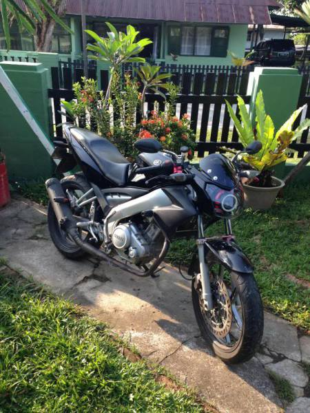 Modifikasi Motor Vixion dengan Variasi  Modifikasi Jakarta