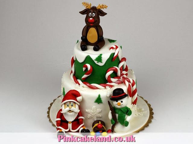 Christmas Cake - Surrey