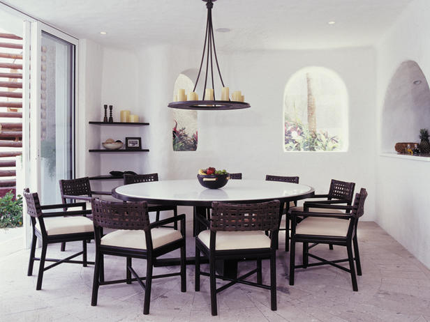 modern furniture modern dining rooms ideas 2011 designers by hgtv. Black Bedroom Furniture Sets. Home Design Ideas