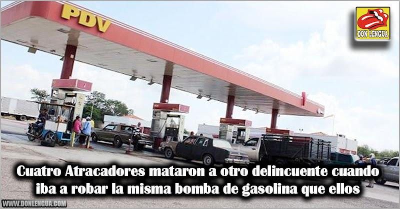 Cuatro Atracadores mataron a otro delincuente cuando iba a robar la misma bomba de gasolina que ellos