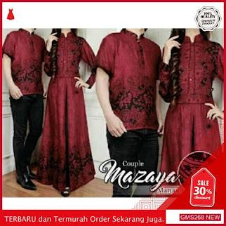 GMS268 AJNBJ268C78 Couple Batik Mazaya Setelan Batik Dropship SK0168300865