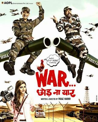 Poster Of Hindi Movie War Chod Na Yaar (2013) Free Download Full New Hindi Movie Watch Online At worldfree4u.com