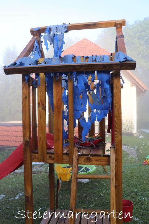 Hagelschaden-Spielturm-Steiermarkgarten