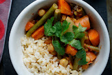 Curry Veggies with Garbanzo Beans