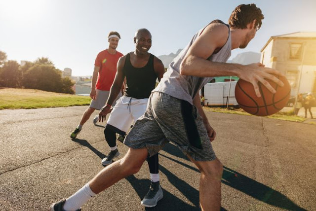 fun fitness sports team basketball league social fit