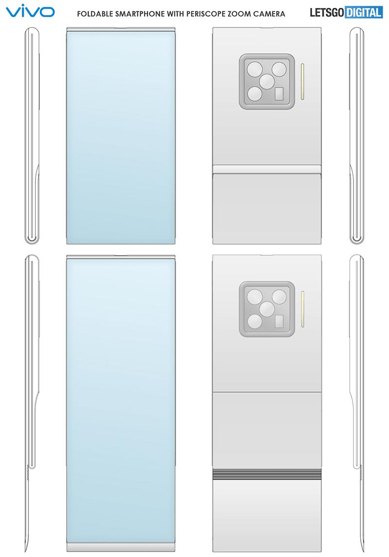 vivo has a unique bottom-folding design