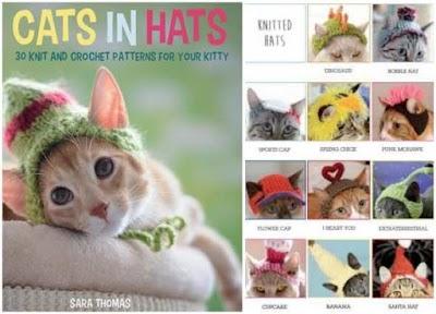 30 Gorros para gatos tricot-crochet